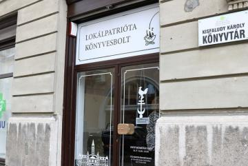Lokálpatrióta Könyvesbolt Győr 01