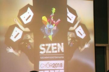 Széchenyi Egyetemi Napok 2018 sajtótájékoztató 05