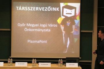 Széchenyi Egyetemi Napok 2018 sajtótájékoztató 09