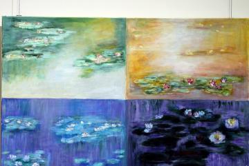 Festőkés Stenger Györgyi kiállítása 02