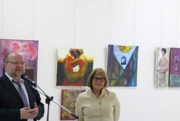 Festőkés Stenger Györgyi kiállítása 14