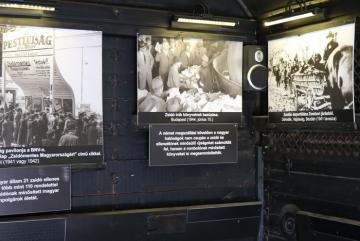 Élet Menete vagonkiállítás 04