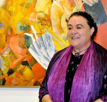 Duncsák Attila kiállítása 051 - Maczkó Mária