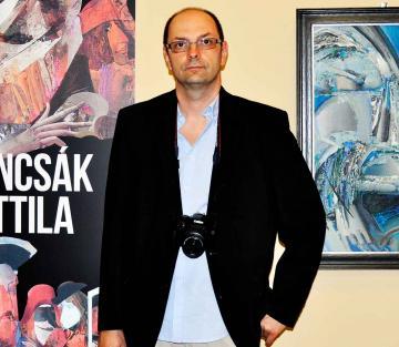 Duncsák Attila kiállítása 085 - Duncsák Oszkár