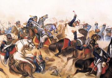 Than Mór: A tápióbicskei csata