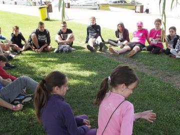 Győri egyházmegyés gyerekek a zánkai Erzsébet-táborban 06