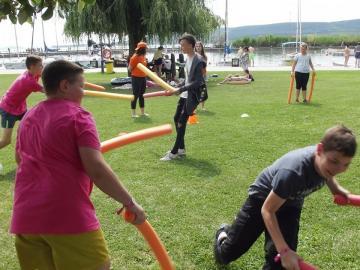 Győri egyházmegyés gyerekek a zánkai Erzsébet-táborban 08
