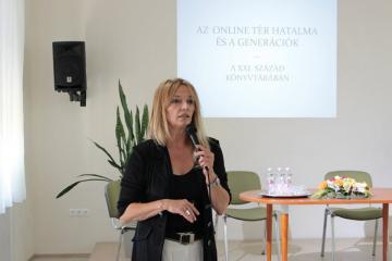 Használó - közönség - közösség - Helyismereti konferencia Győrben 01
