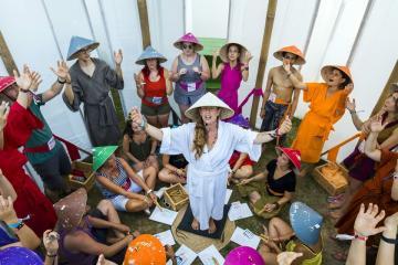 Fesztiválozók (Mohai Balázs fotója)