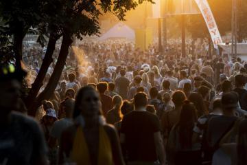 Fesztiválozók (Mónus Márton fotója)
