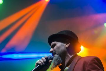 A belga-argentin El Juntacadáveres együttes koncertje (Mohai Balázs fotója)