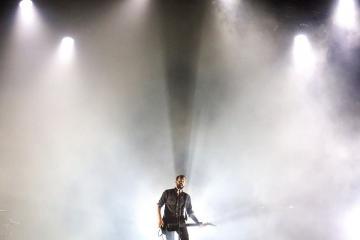 Az ambient popzenét játszó amerikai Cigarettes After Sex együttes koncertje (Mohai Balázs fotója)