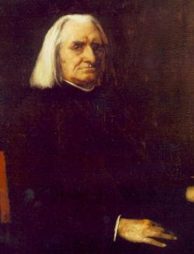 Munkácsy Mihály: Liszt Ferenc portréja
