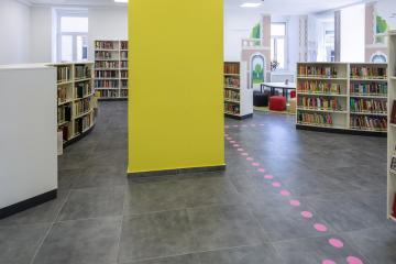 Megújult Kisfaludy Könyvtár első emelet 10