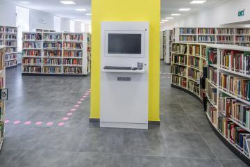 Megújult Kisfaludy Könyvtár első emelet 18