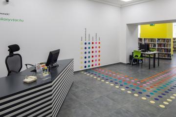 Megújult Kisfaludy Könyvtár első emelet 04