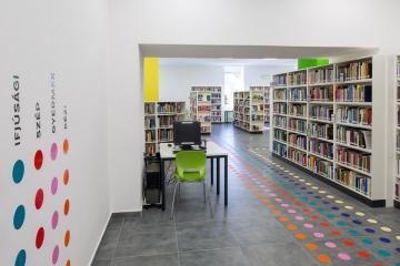 Megújult Kisfaludy Könyvtár első emelet 06