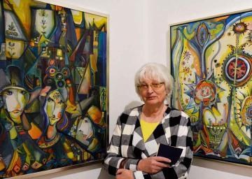Csurák Erzsébet kiállítása 50