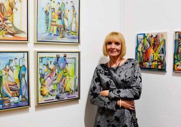 Csurák Erzsébet kiállítása 48