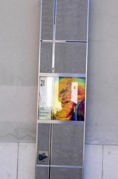 Borbély Károly: Jézus meghal a kereszten (festmény)