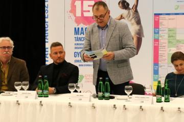 XV. Magyar Táncfesztivál sajtótájékoztató 14