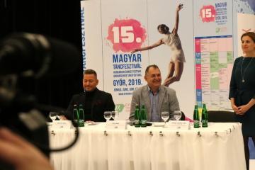 XV. Magyar Táncfesztivál sajtótájékoztató 11