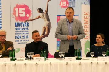 XV. Magyar Táncfesztivál sajtótájékoztató 16