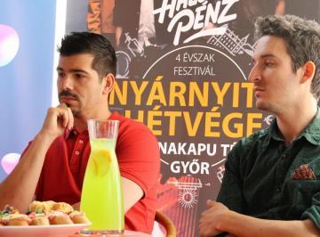 Győr nyárnyitó sajtótájékoztató 11