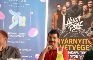 Győr nyárnyitó sajtótájékoztató 07