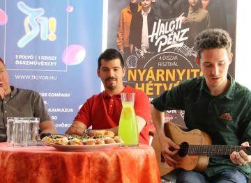 Győr nyárnyitó sajtótájékoztató 15