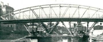A győri Rábca-híd áthelyezése 08