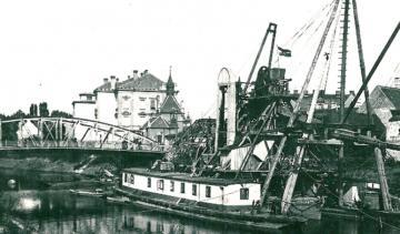 A győri Rábca-híd áthelyezése 04