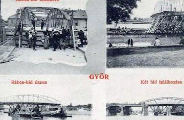 A győri Rábca-híd áthelyezése 12