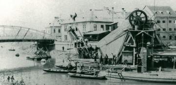 A győri Rábca-híd áthelyezése 02