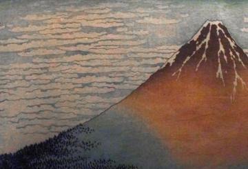 03 Hokuszai Kacusika: Finom szél, tiszta reggel
