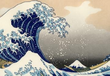 02 Hokuszai Kacusika: A nagy hullám Kanagavánál