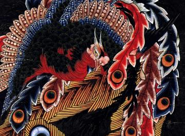 06 Hokuszai Kacusika: A főnix
