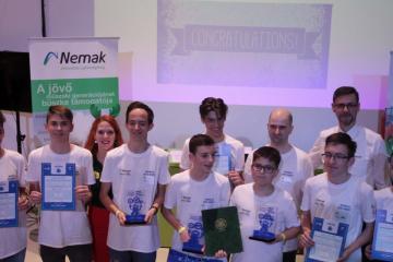Nemak-Mobilis robotverseny Győr 07