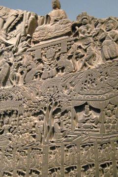 Buddhista sztéla