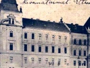 A Rábaszabályozó Társulat székházának építése