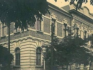 """Az egykori Rákócziánum, a későbbi """"konzi"""" épülete"""