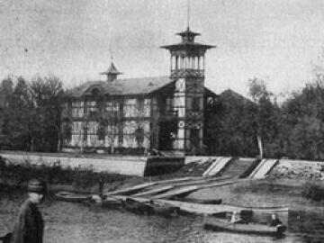 A Spartacus csónakház – Győr első csónakháza