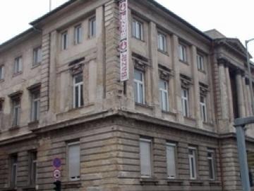 A győri pénzügyi palota épületének története 1945 után