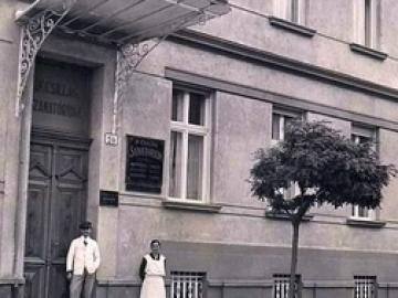 A győri Csillag Szanatórium és alapítója, dr. Csillag József