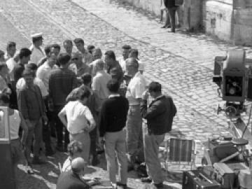 Filmforgatás Győrben 1963-ban: Az aranyfej