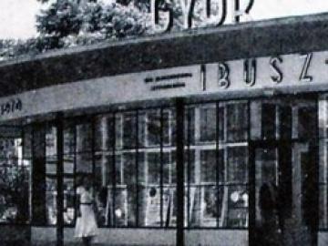 A győri idegenforgalmi pavilon története: 1938-1975