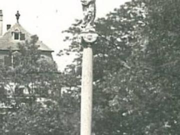 """A """"hit és haza"""" emlékműve: a győri Mária-oszlop"""