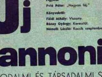 Az Uj Pannonia (1937-1938)