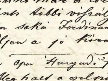 """""""Eltünt már a cselszövő…"""" - Győri napló 1848-ból"""