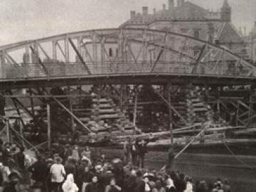 A győri Rábca-híd áthelyezése